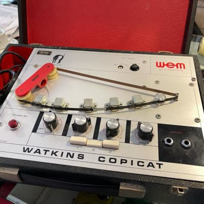 Wem Watkins Copicat Tape Delay A Nastro Anni 70 for sale