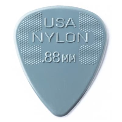 Dunlop .88mm Nylon Standard Pick (12-Pack)