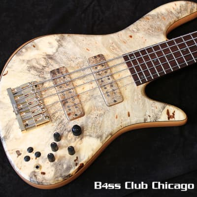 Fodera Emperor 5 Elite Buckeye Burl for sale