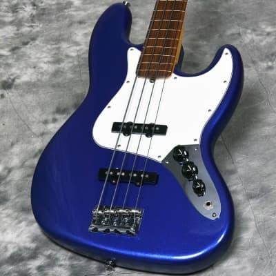 Fender American Standard Fletless Jazz Bass Upglade Mystic Blue 04/01 for sale