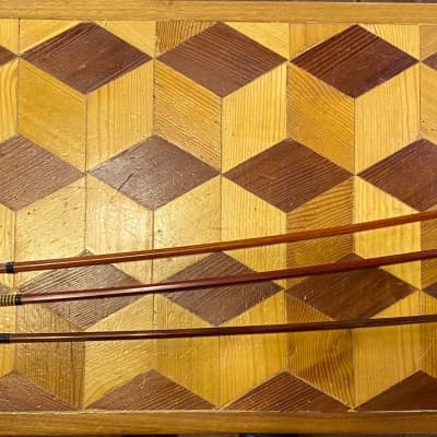 4/4 Pernambuco Violin Bows Lot of 3 [No Bowhair]