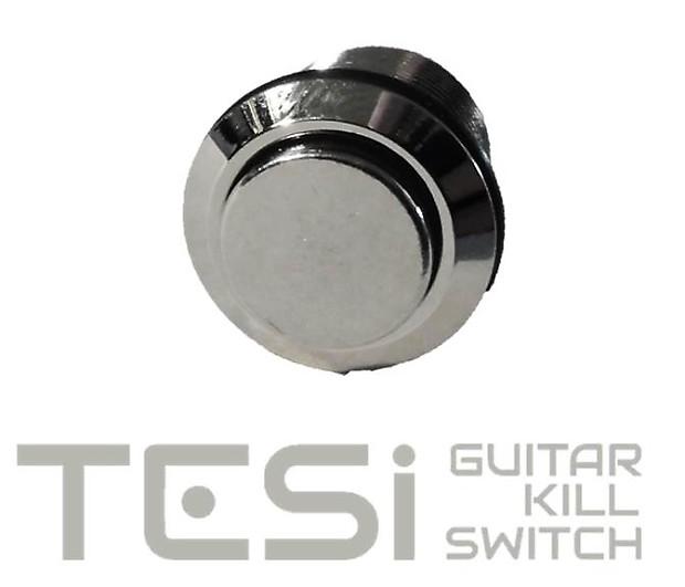 tesi ido 12mm momentary metal guitar kill switch for fender reverb. Black Bedroom Furniture Sets. Home Design Ideas