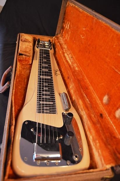 Vintage 1950s 1960s Fender Studio Deluxe 6 Lap Reverb