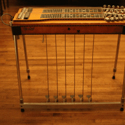 Sho Bud  double neck pedal steel (Crossover) 1968 Brown for sale