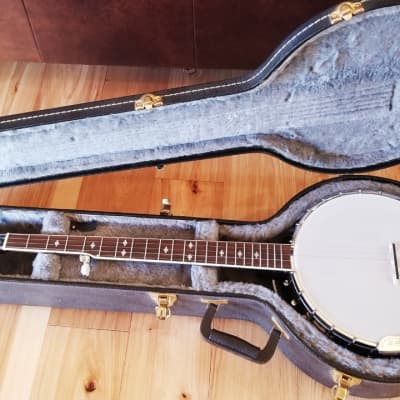 Gold Tone BG-250F Bluegrass 5-String Banjo w/ Flange