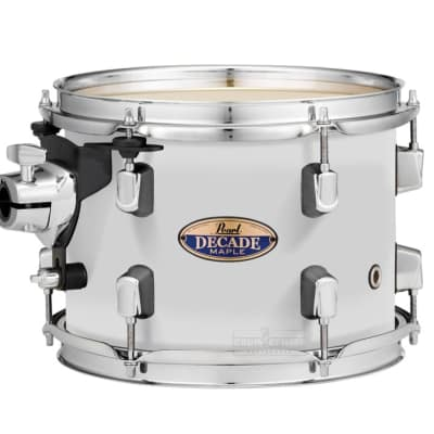 "Pearl Decade Maple 18""x16"" Floor Tom - White Satin Pearl"