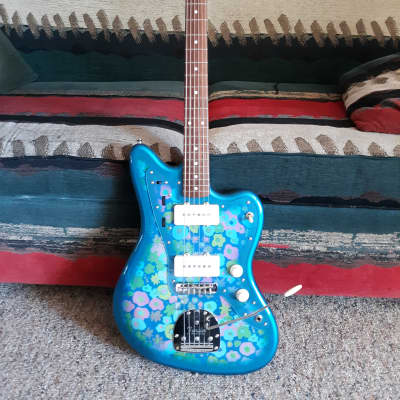Fender MIJ Traditional 60s Jazzmaster 2018 Blue Flower