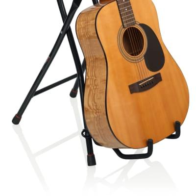 Gator GFW-GTR-Seat Frameworks Guitar Seat/Stand Combo