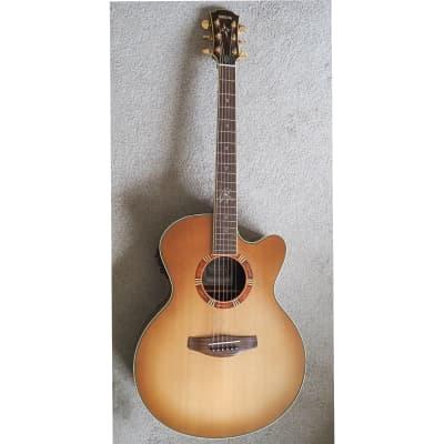 Yamaha Yamaha CPX-15EA Egyptian Sandburst Electro-Acoustic Guitar for sale