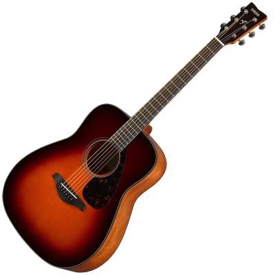 Yamaha FG800-BS Folk Acoustic Guitar Brown Sunburst