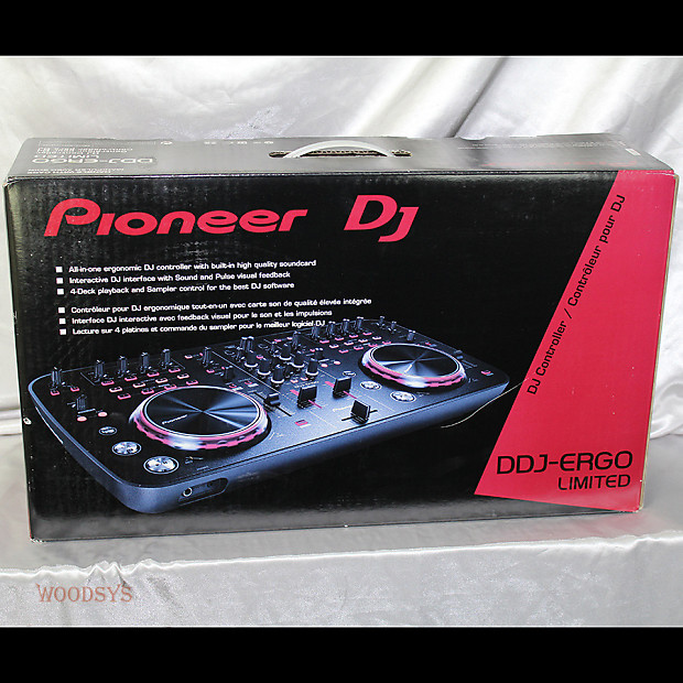Pioneer Ddj Ergo Limited Edition Black Reverb