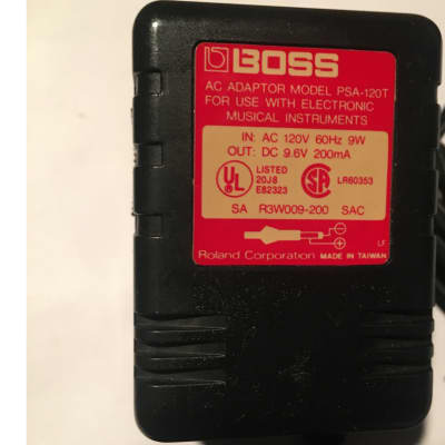 Boss PSA-120T AC Adaptor for Pedals Black/Red