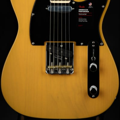 Fender Channel Exclusive American Performer Telecaster - Buterscotch Blonde for sale