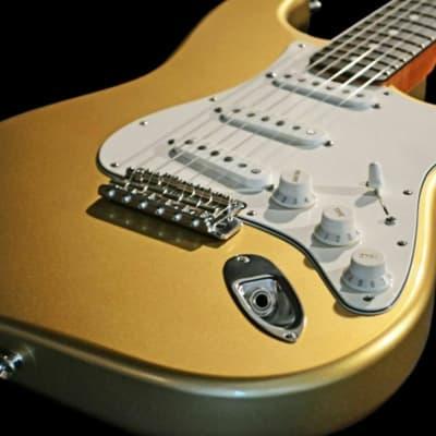 Bolin Mysterycaster Gold Custom Stratocaster - Steve Miller Band for sale