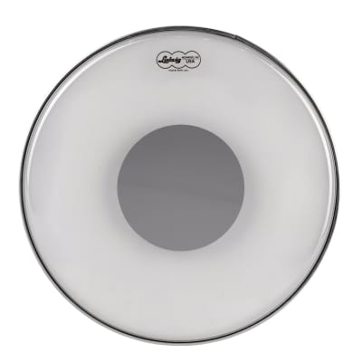 "Ludwig LW6120R Powerstroke 3 20"" Clear Silver Dot Bass Drum Head"
