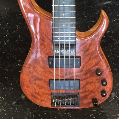 Modulus Quantum Five-String 1998 Custom Bubinga for sale