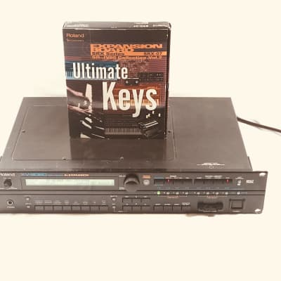 Roland XV-3080 128-Voice Rackmount Synthesizer Module w/extras