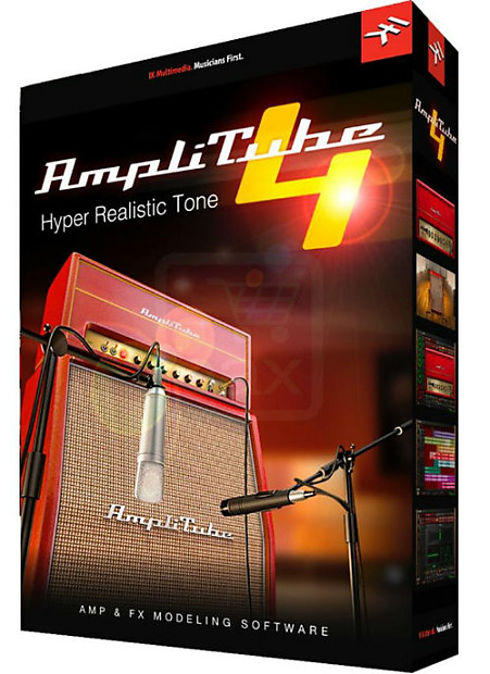 ik multimedia amplitube 4 guitar bass amp software reverb. Black Bedroom Furniture Sets. Home Design Ideas