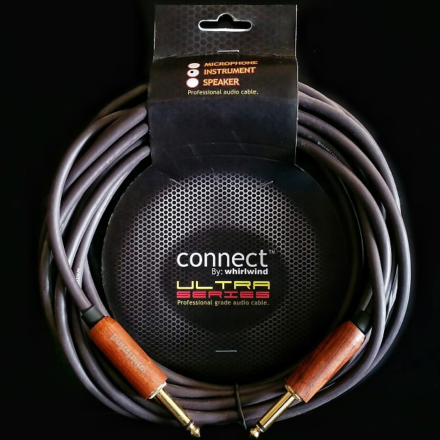 Whirlwind GW20H hardwood instrument guitar cable Musical ...