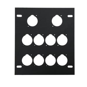 Elite Core Audio FB-PLATE10 Unloaded Plate for Recessed Floor Box