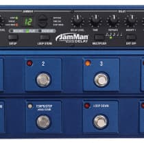 DigiTech JamMan Delay Looper Phrase / Sampler 2010s Blue image