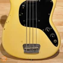 Fender Musicmaster Bass 1978 White image