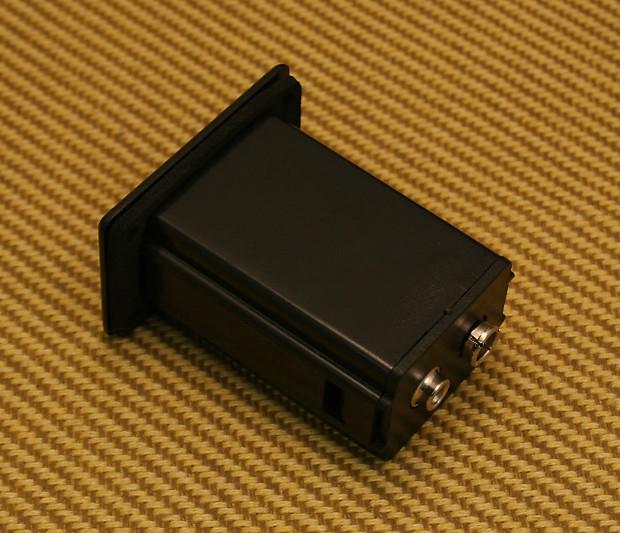 guild acoustic electric jazz guitar slide out preamp battery reverb. Black Bedroom Furniture Sets. Home Design Ideas