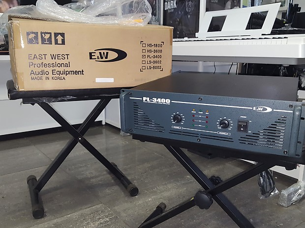 East West PL-3400 Professional Power Amplifier 3400W