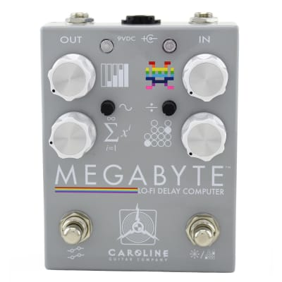 Caroline Megabyte Lo-Fi Delay Computer Pedal