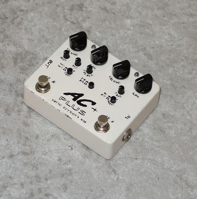 xotic ac plus dual overdrive pedal capitol guitars reverb. Black Bedroom Furniture Sets. Home Design Ideas
