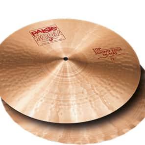 "Paiste 17"" 2002 Sound Edge Hi-Hat Cymbal (Top)"