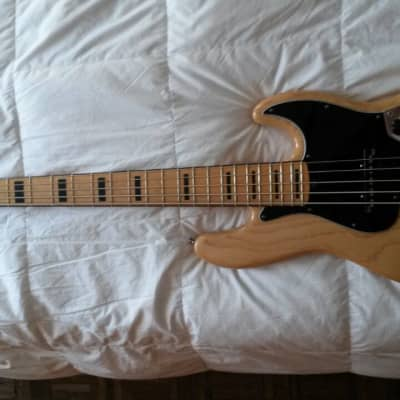 Fender American Deluxe Jazz Bass 2012 Natural Rosewood for sale