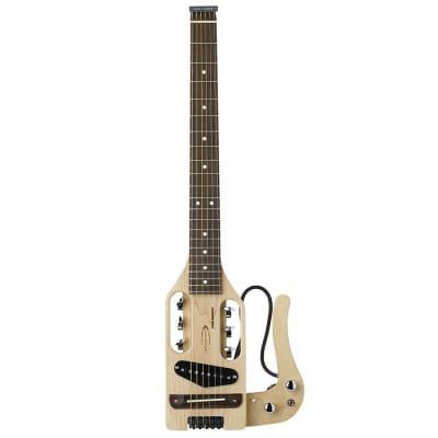 Traveler Pro MPL Maple Pro-Series Electric Travel Guitar w/ Gigbag