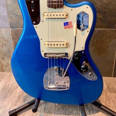 Mint 2018 Fender Johnny Marr Signature Jaguar Lake Placid Blue OHSC (0202) for sale
