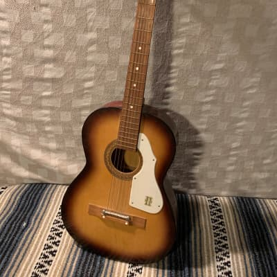 Norma  FG-17 Acoustic Guitar  1960s Sunburst Made in Japan for sale