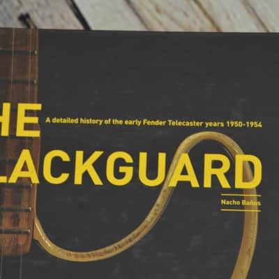 "Fender Telecaster Book ""The Blackguard"" by Nacho Baños"