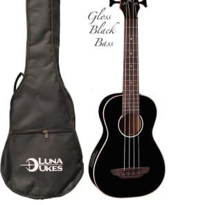 Luna UKE BASS CBK Bass Ukulele
