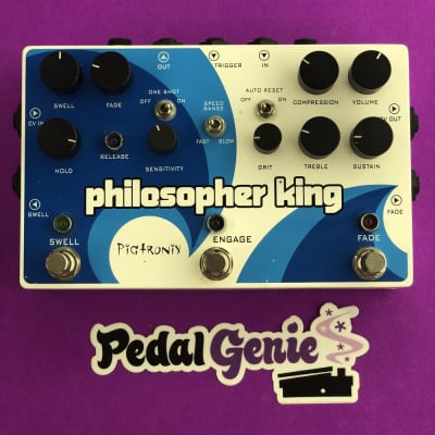 [USED] Pigtronix Philosopher King Envelope Filter And Compression