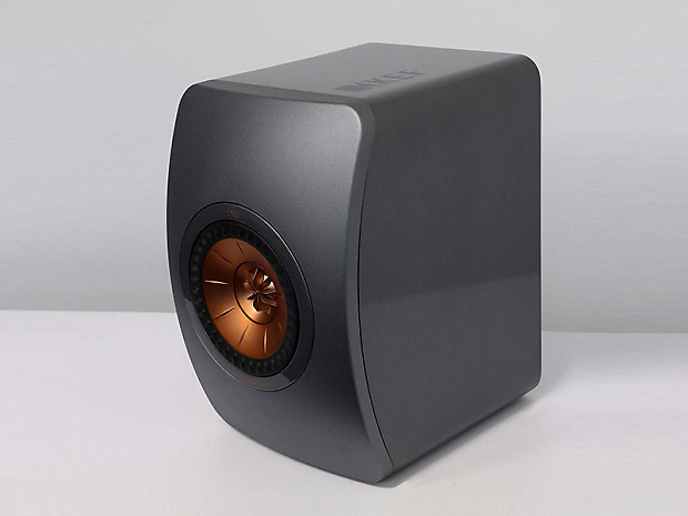 kef ls50 special edition color dark titanium open reverb. Black Bedroom Furniture Sets. Home Design Ideas