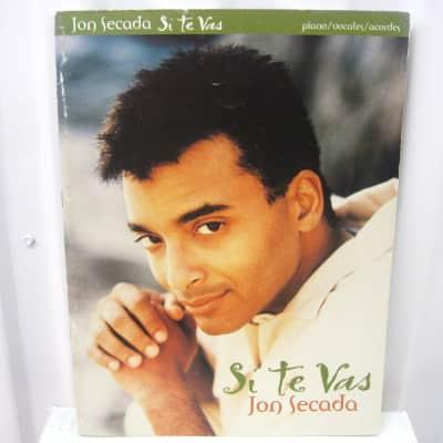Jon Secada Si Te Vas Piano Vocal Guitar Chords Sheet Music Song Book Songbook