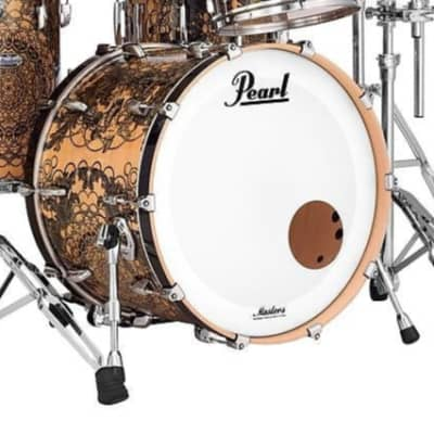 """Pearl MCT2418BX Masters Maple Complete 24x18"""" Bass Drum without Tom Mount"""