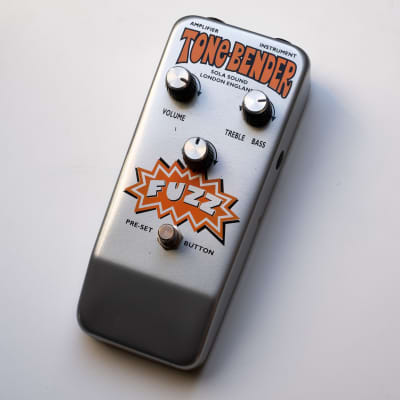 Sola Sound Tone Bender MKIV Fuzz 90's reissue (similar to MKIII, Jumbo, Big Muff) for sale