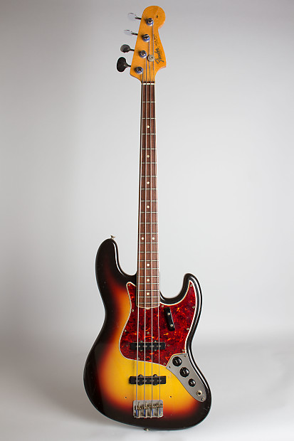 fender jazz bass solid body electric bass guitar 1966 reverb. Black Bedroom Furniture Sets. Home Design Ideas