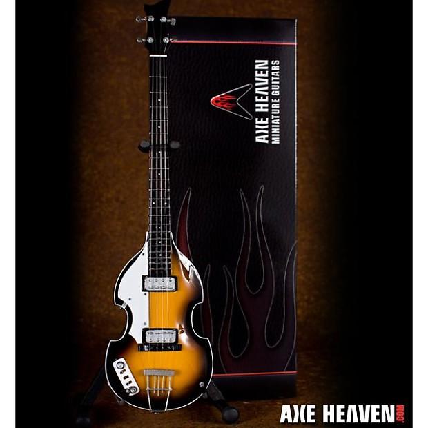 "Axe Heaven /""Stairway/"" Double Neck 1//4 scale Miniature Collectible Guitar AH-258"