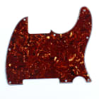Replacement Tele Esquire Style Guitar pickguard ,4ply Red Tortoise image