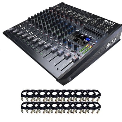 Alto Alto Professional Live 2404 Professional 24-Channel / 4-Bus Mixer w/USB, Superior DSP & Preamps