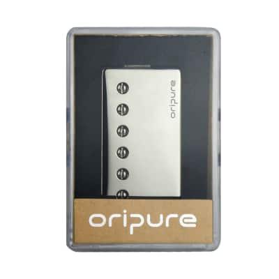 OriPure Alnico 5 LP SG Style Guitar Humbucker Pickup Double Coil Neck Pickup Chrome Cover