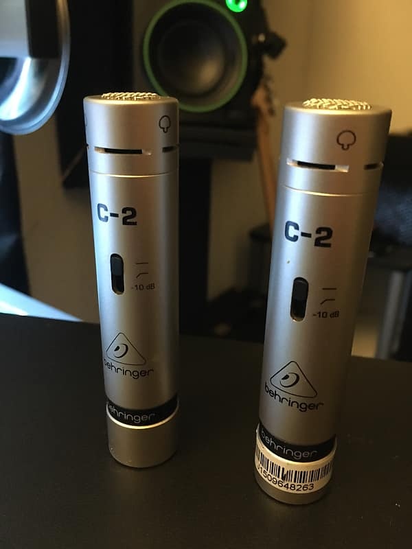 behringer c 2 small diaphragm cardioid condenser microphone reverb. Black Bedroom Furniture Sets. Home Design Ideas