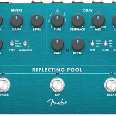 Fender Reflecting Pool Delay/Reverb for sale