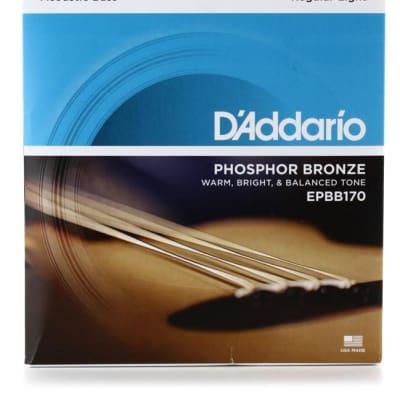 D'Addario EPBB170 Phosphor Bronze Acoustic Long Scale Bass Strings